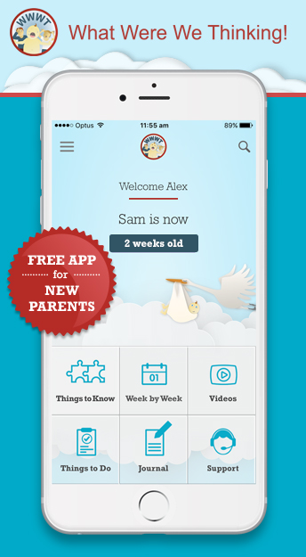 App for new parents